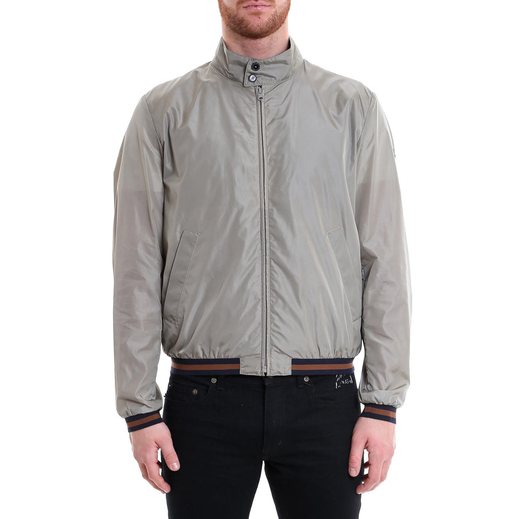 Fay High-Neck Bomber Jacket