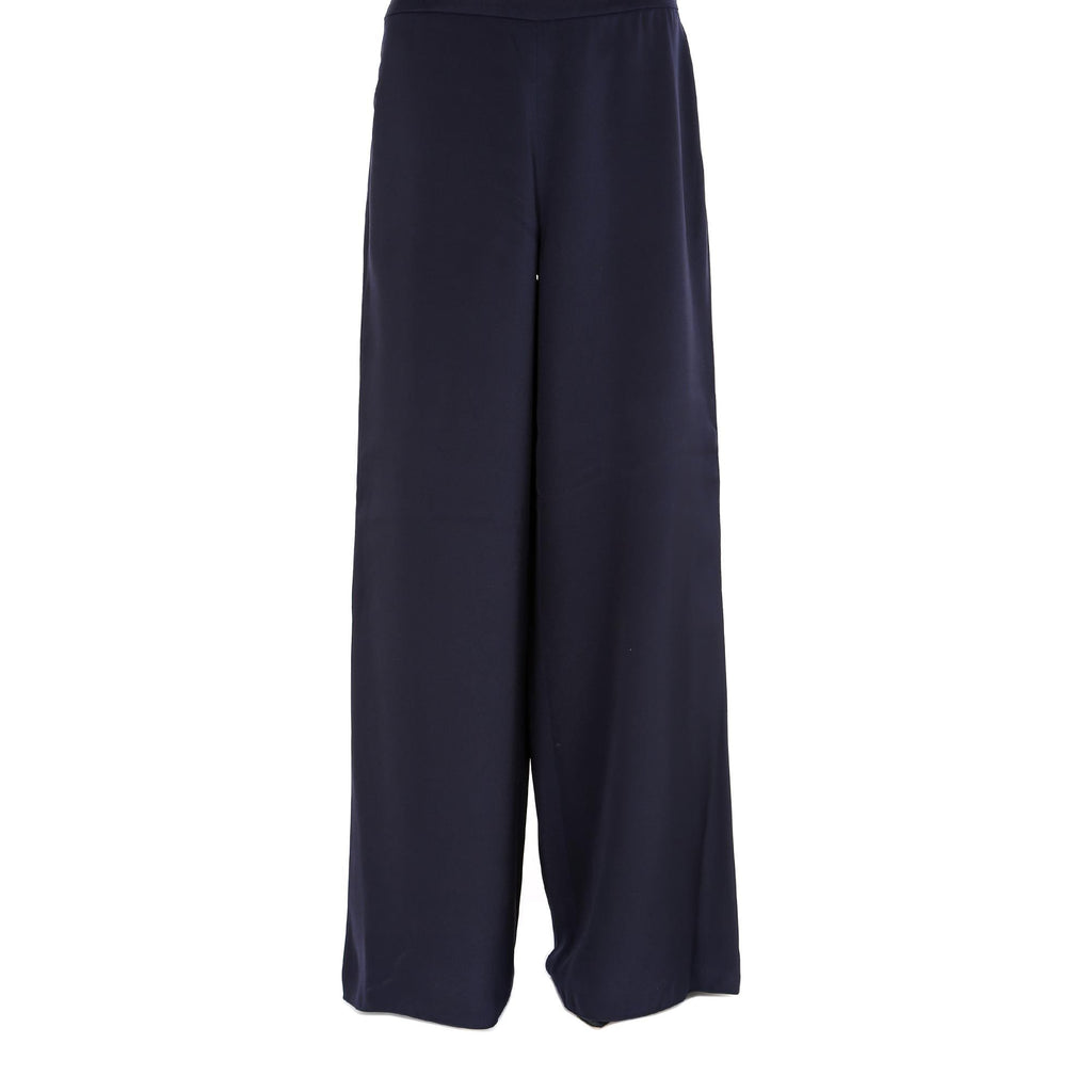 Max Mara Loose Fit Silk Trousers