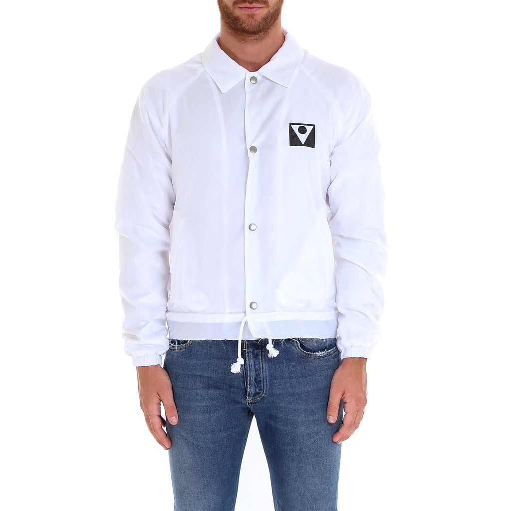 Maison Margiela Logo Snap Button Jacket