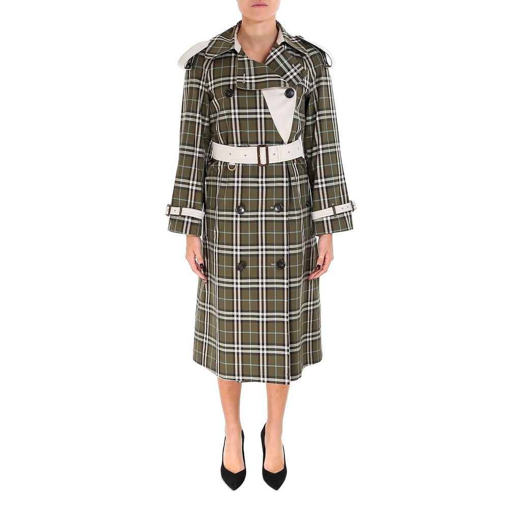 Burberry Reversible Check Trench Coat