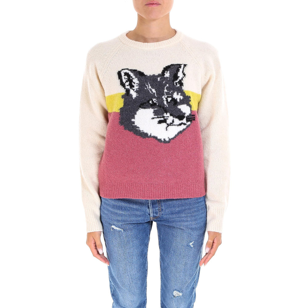 Maison Kitsuné Fox Print Sweater