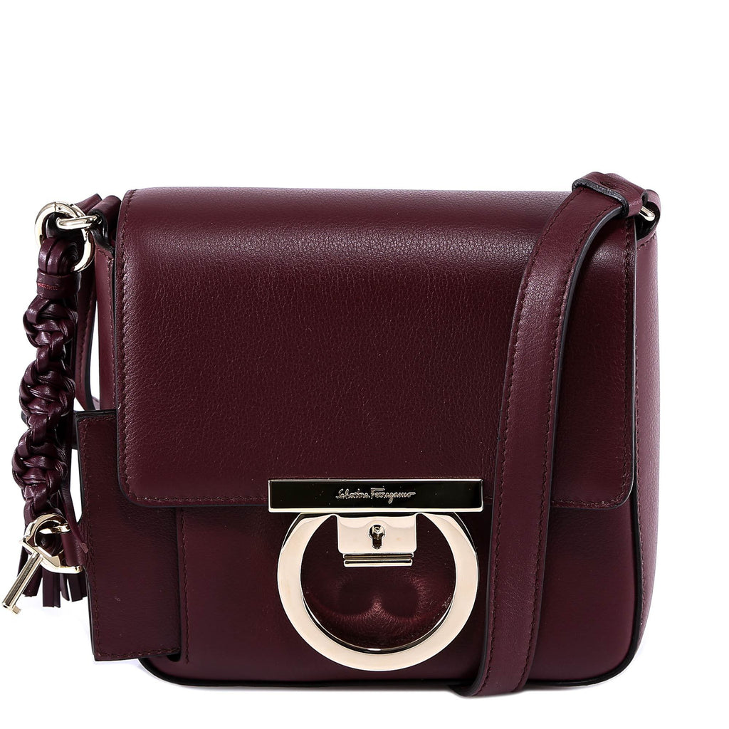 Salvatore Ferragamo Logo Shoulder Bag