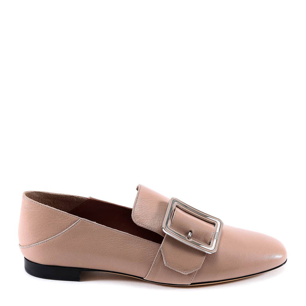 Bally Buckle Slip On Shoes