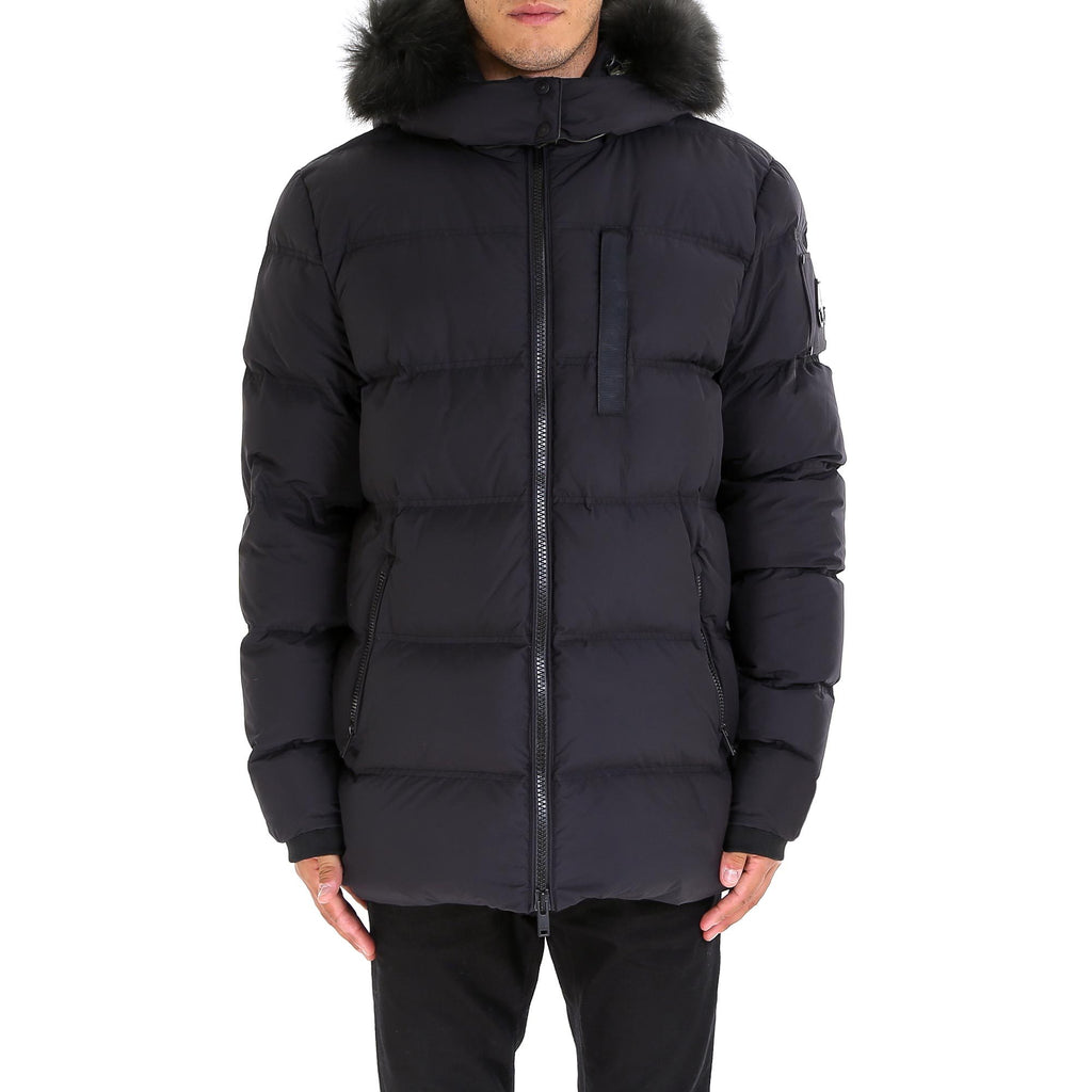 Moose Knuckles Quilted Hooded Parka