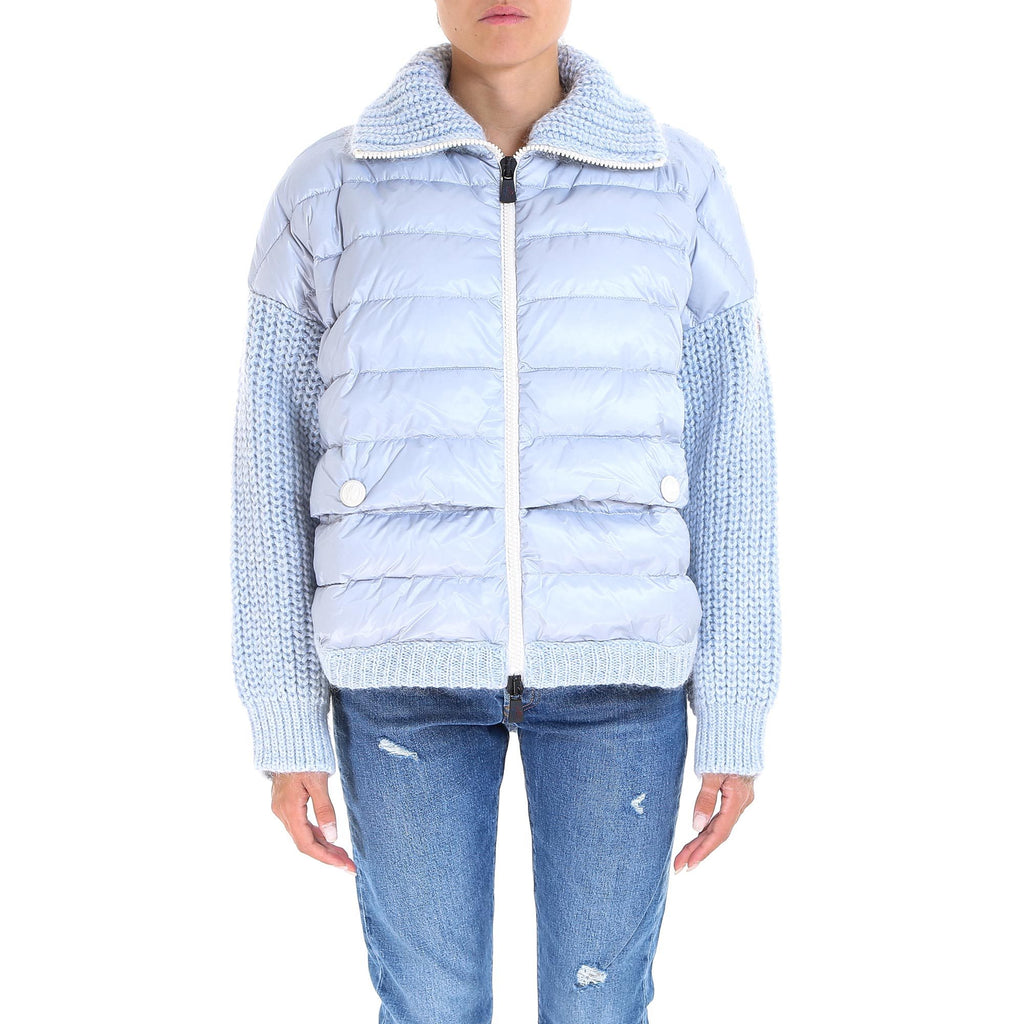 Moncler Grenoble Knitted Padded Jacket