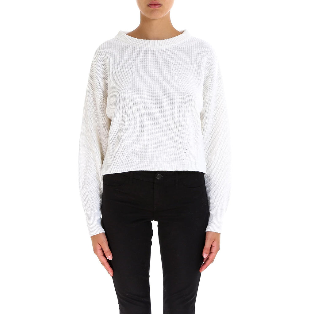 Gotha Crew-Neck Ribbed Sweater