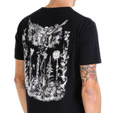 Alexander McQueen Graphic Print Skeleton T-Shirt