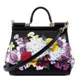 Dolce & Gabbana Floral Top Handle Tote Bag