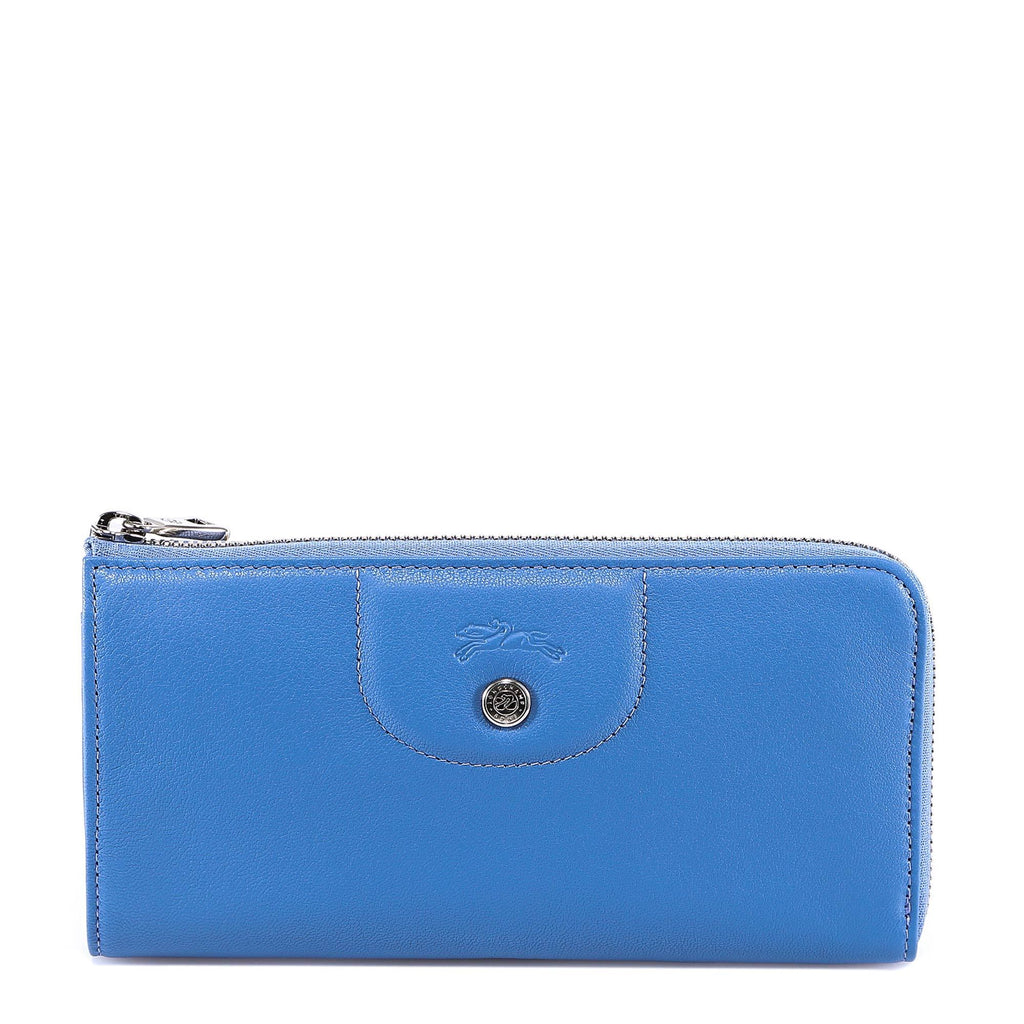Longchamp Leather Zipped Wallet