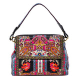 Etro Paisley Embroidered Shoulder Bag