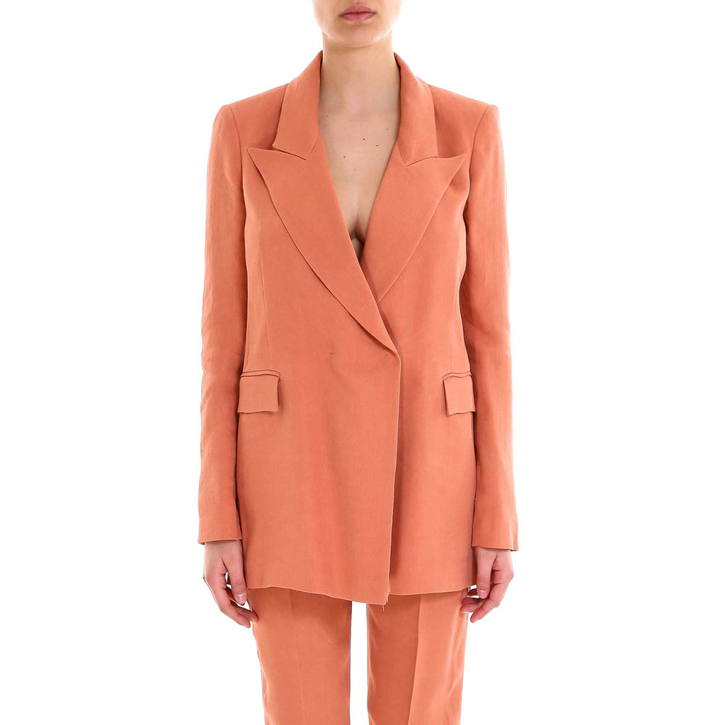 L'Autre Chose Tailored Long Blazer