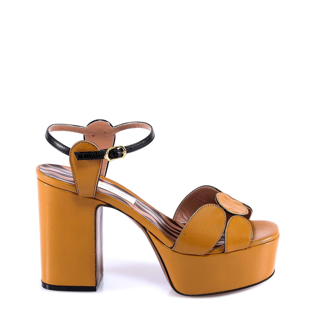 L'Autre Chose Pannelled Platform Sandals