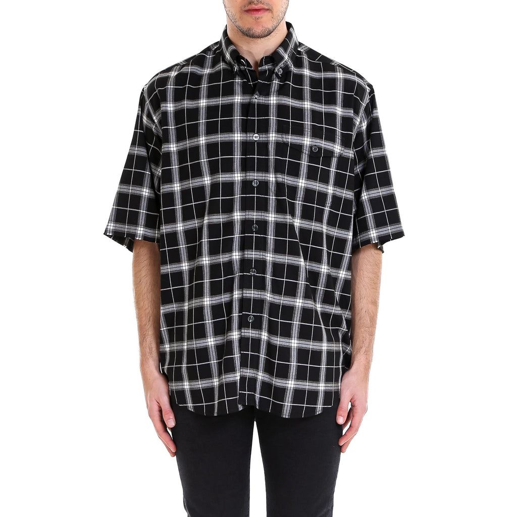 Balenciaga Madras Long Shirt