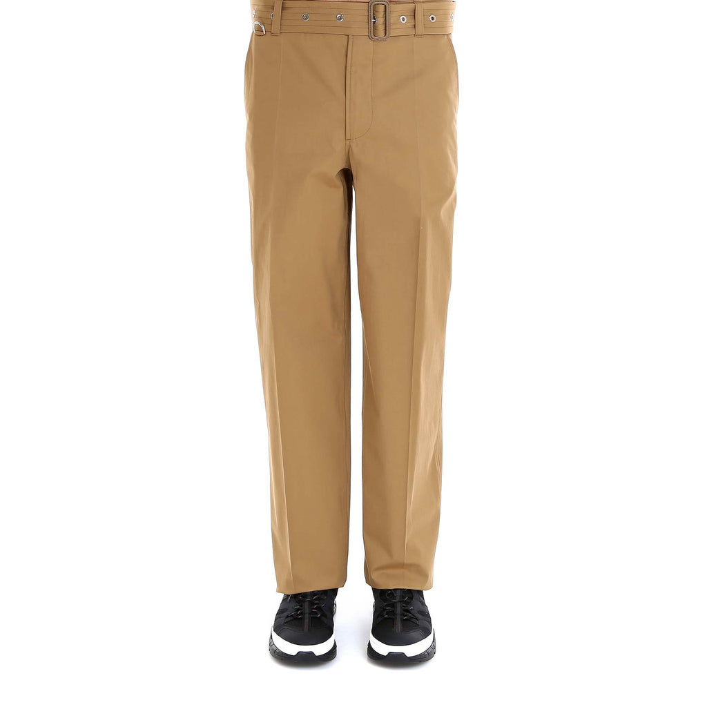 Burberry Straight Leg Trousers