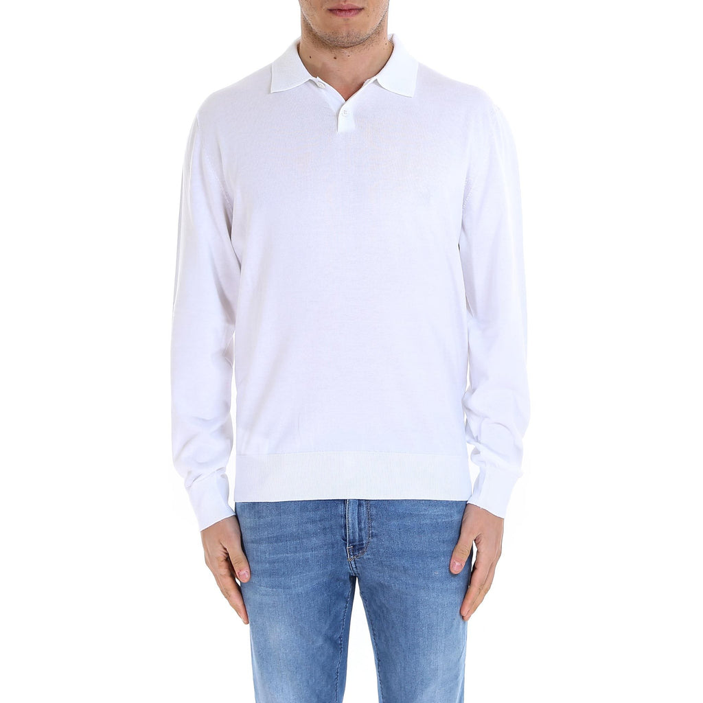 Z Zegna Collared Pullover