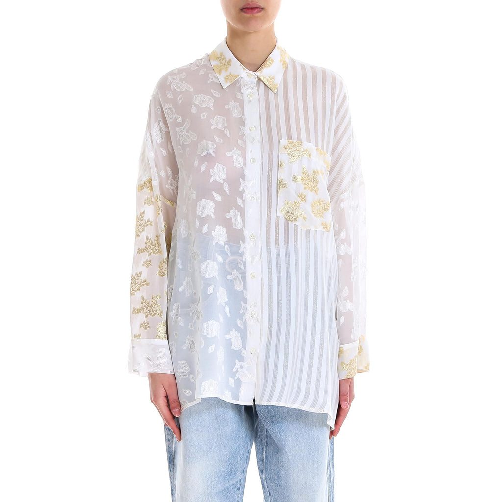 Semi Couture Embroidered Blouse