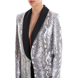 In The Mood For Love Edith Tuxedo Blazer
