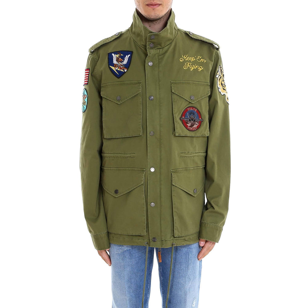Top Gun Patch Embroidered Jacket