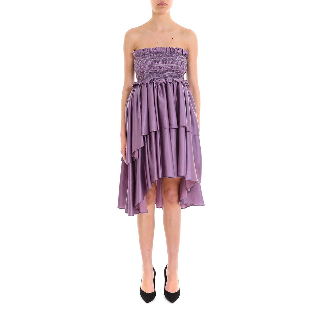 Lardini Ruffled Tiered Dress