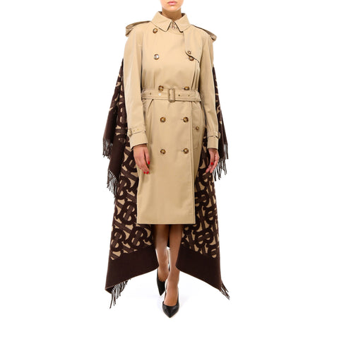 Burberry Blanket Detail Trench Coat