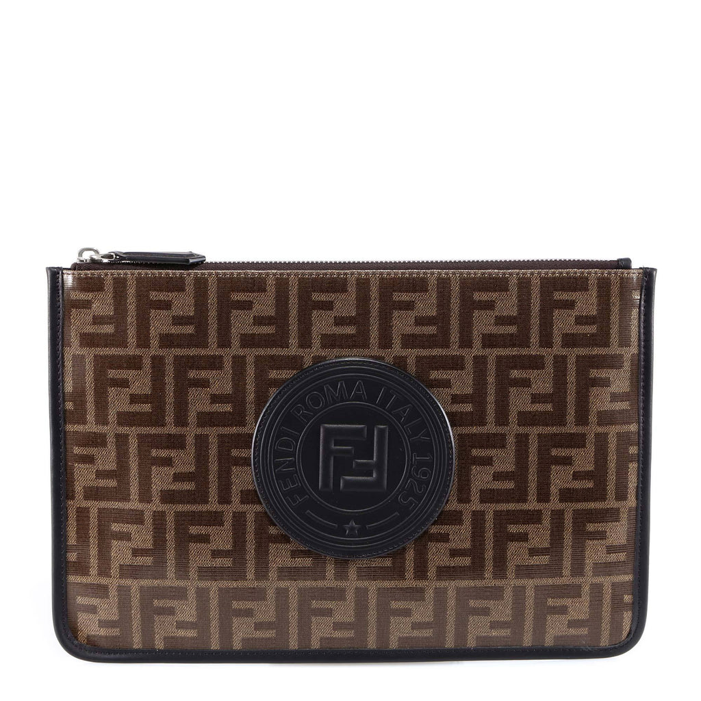 Fendi FF Motif Zipped Pouch