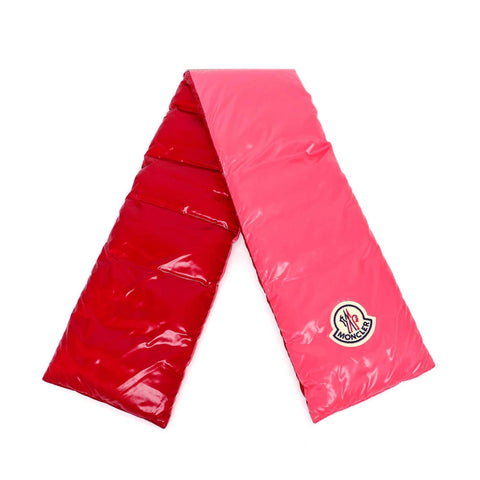 Moncler Padded Logo Patch Scarf