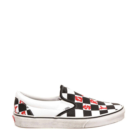 Vans Classic Checkered Print Slip On Sneakers