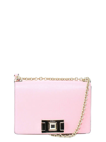 Furla Stud Lock Shoulder Bag