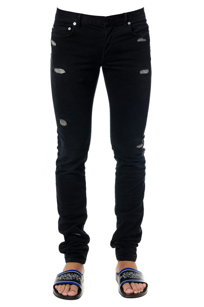 Dior Homme Ripped Skinny Jeans