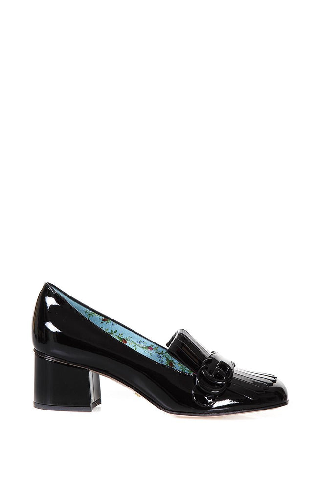 Gucci Marmont Patent Leather Pumps