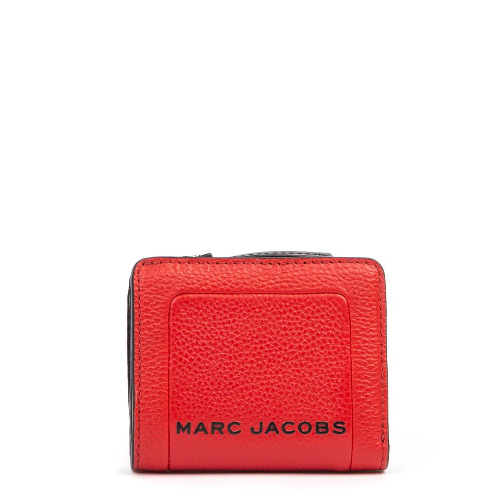 Marc Jacobs Textured Box Mini Compact Wallet