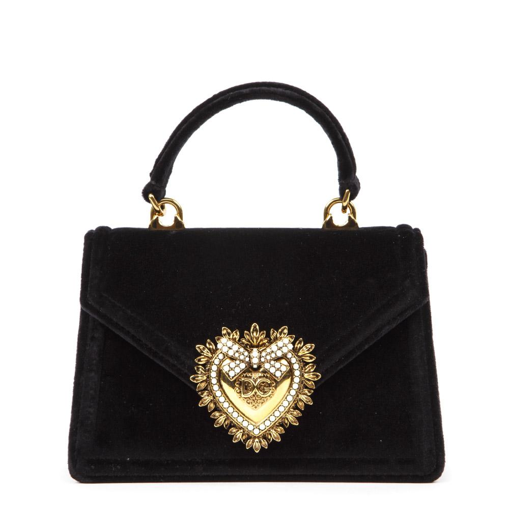 Dolce & Gabbana Small Devotion Embellished Tote Bag