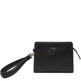 Dolce & Gabbana Logo Zip-Up Clutch Bag