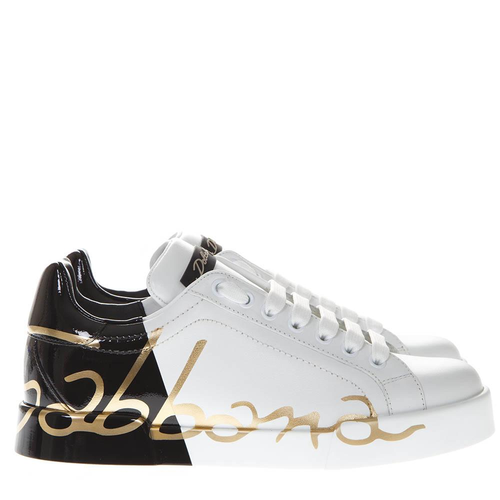 Dolce & Gabbana Logo Lace-Up Sneakers