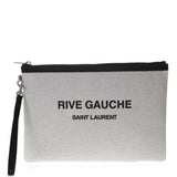 Saint Laurent Rive Gauche Zippered Pouch