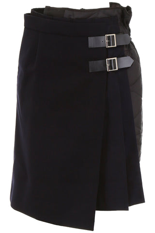 Sacai Layered Wrap Skirt