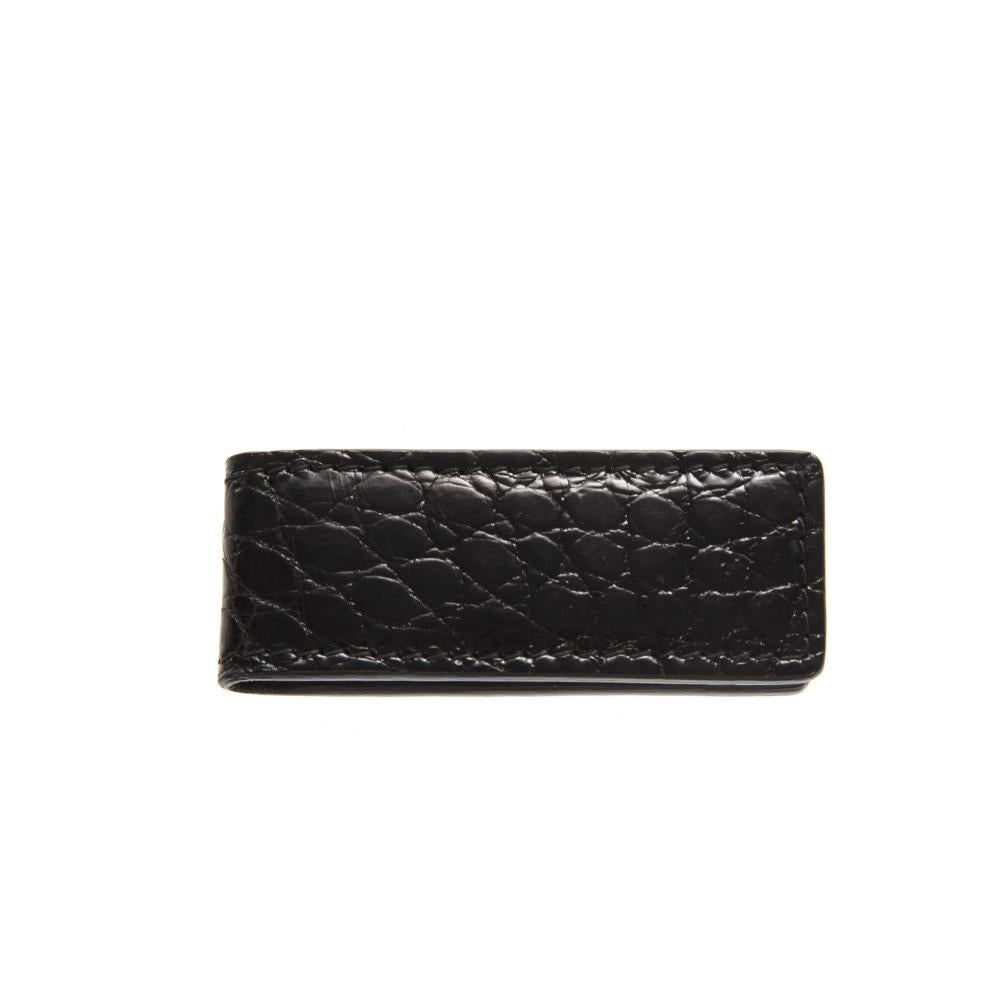Dolce & Gabbana Embossed Money Clip