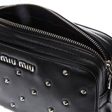 Miu Miu Studded Crossbody Bag