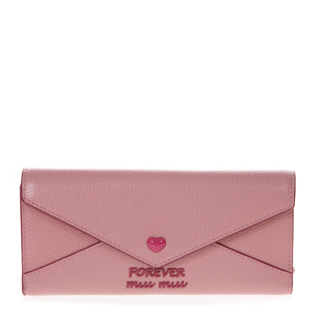 Miu Miu Madras Envelope Wallet