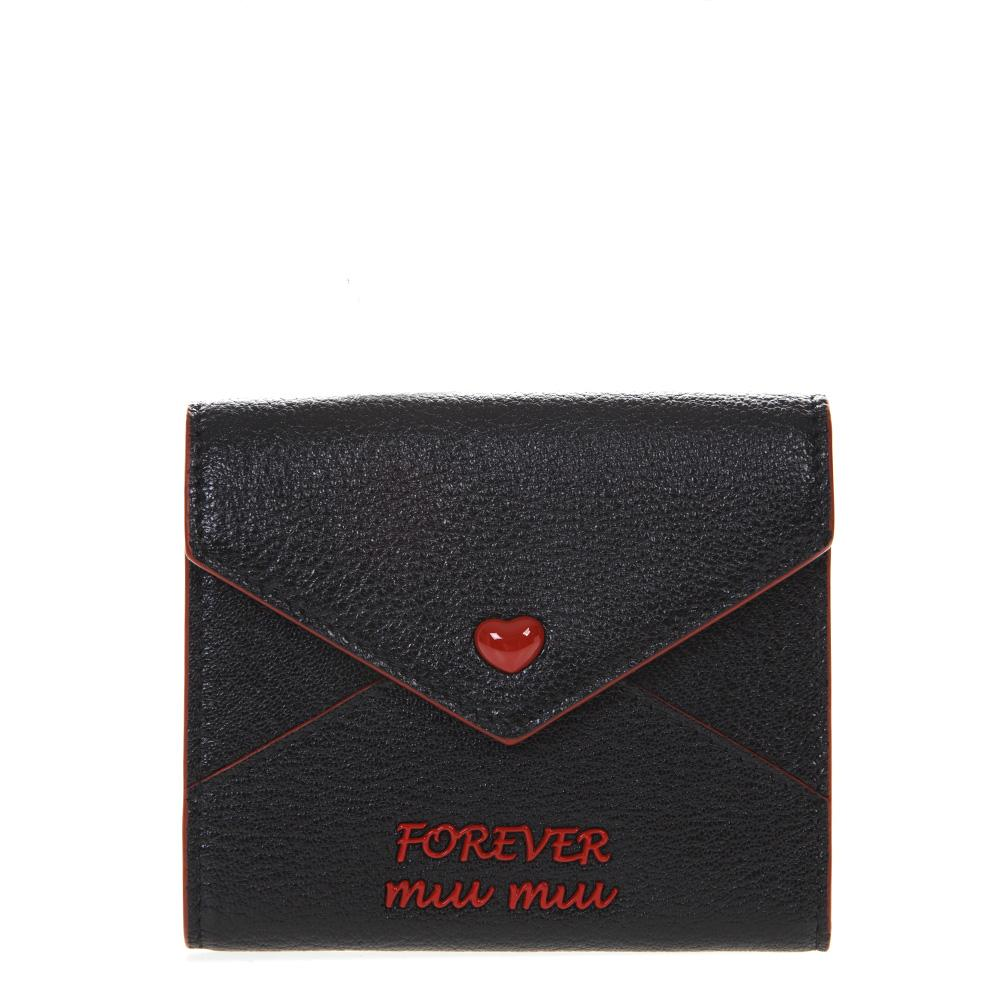 Miu Miu Forever Fold-Over Wallet