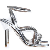 Miu Miu Metallic Sandals