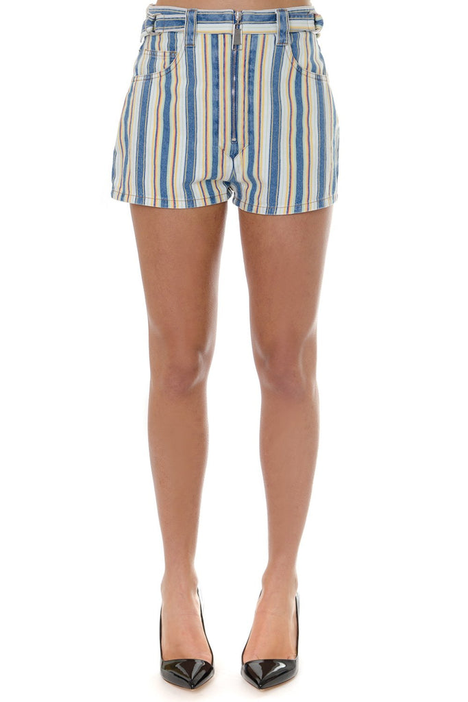 Miu Miu Striped Shorts