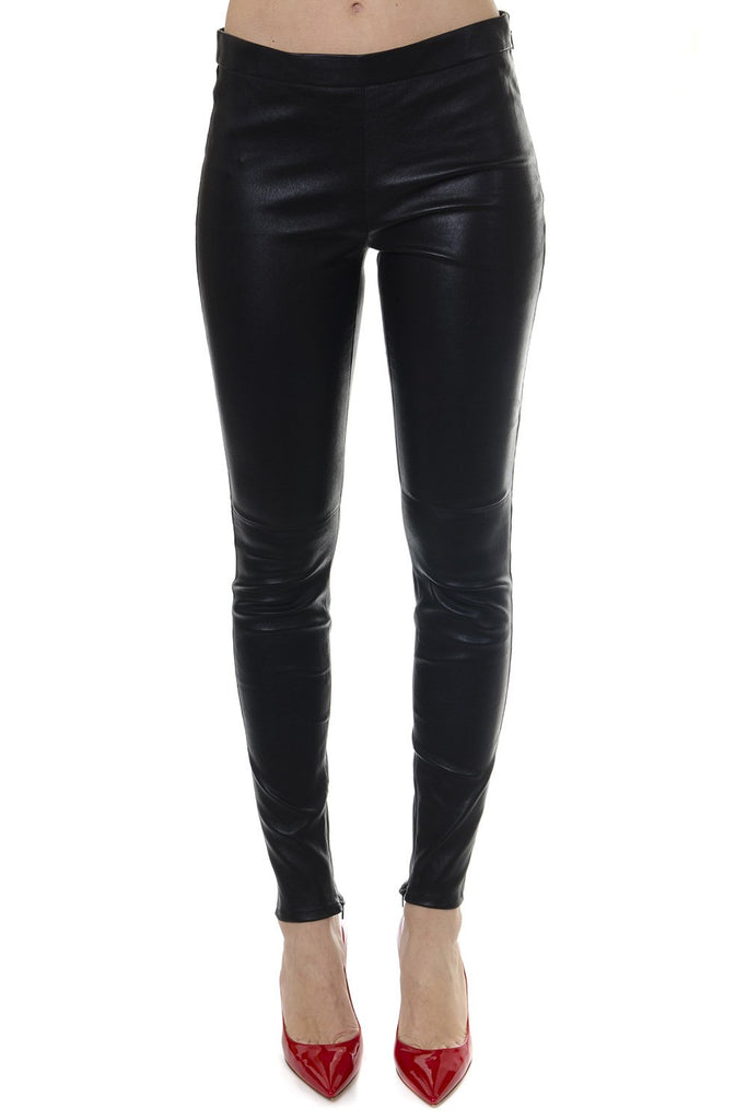 Saint Laurent Mid-Rise Leggings
