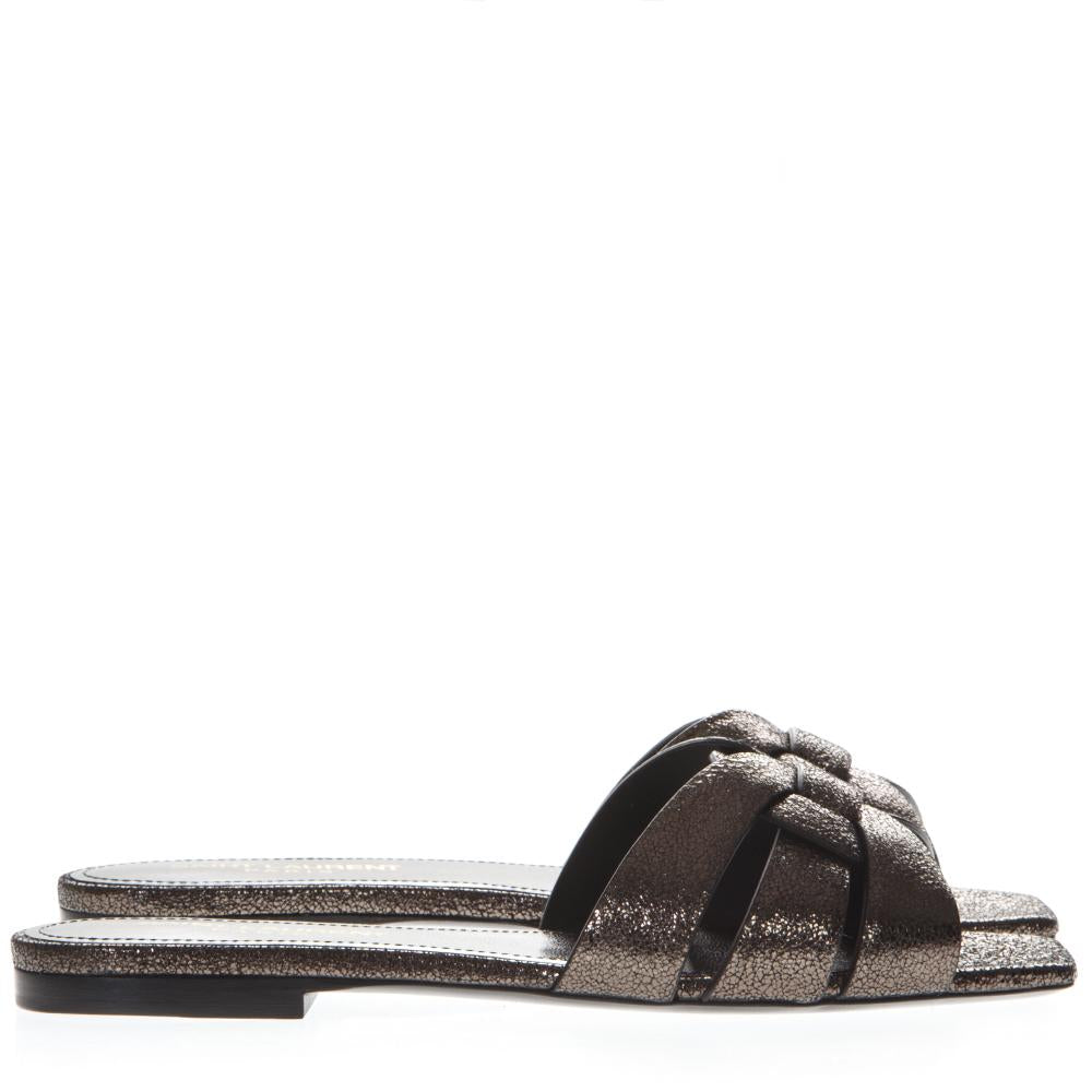 Saint Laurent Tribute Plain Sandals
