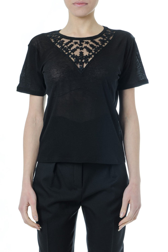 Saint Laurent Trim Insert T-Shirt