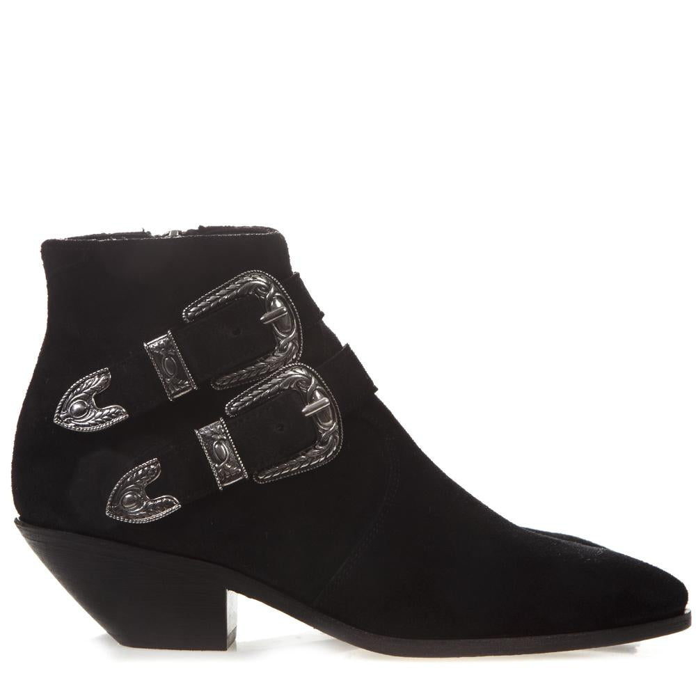 Saint Laurent West Western Boots
