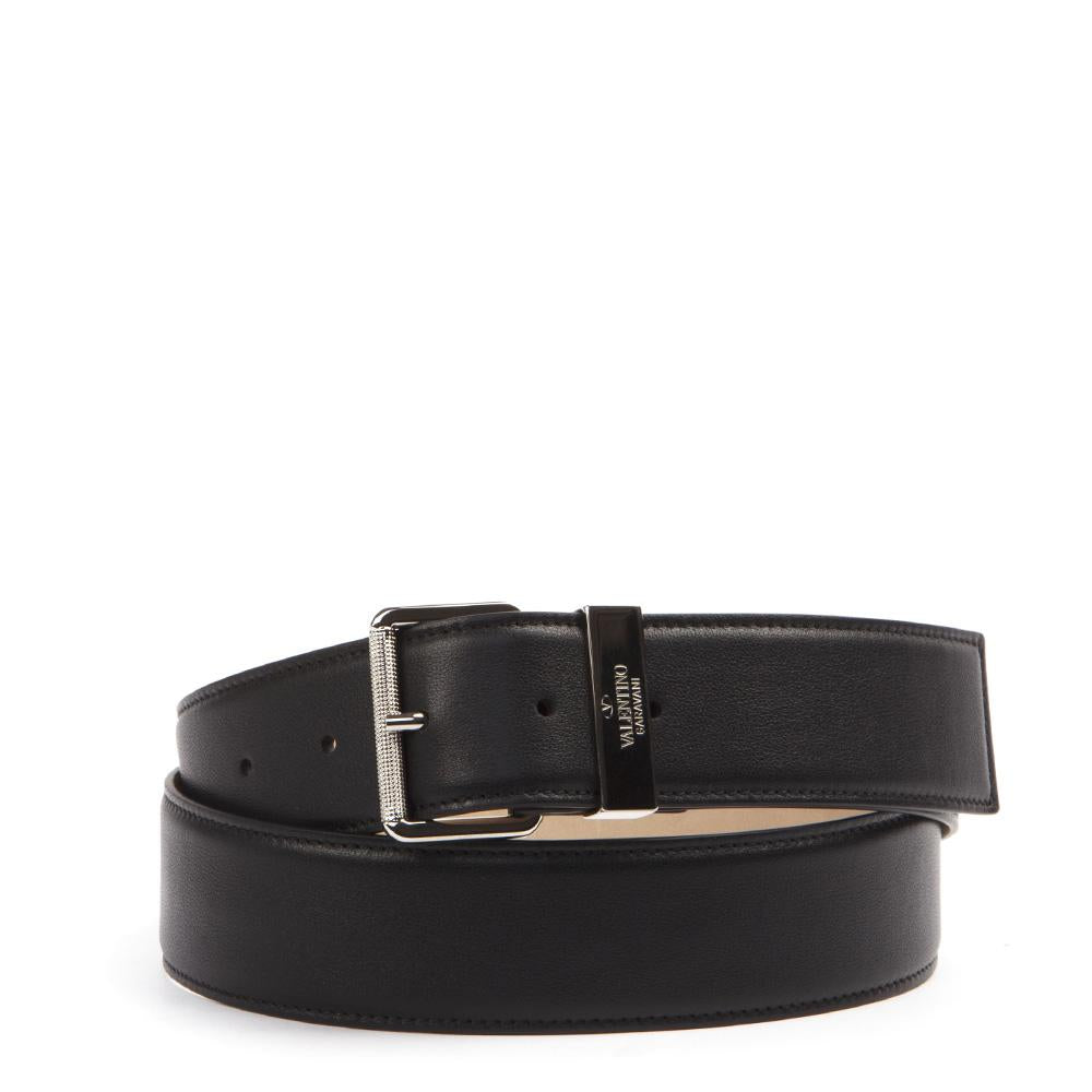 Valentino Logo Buckle Belt
