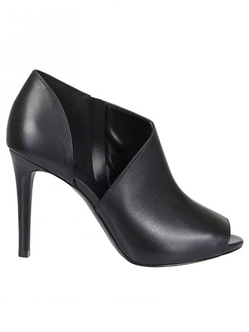 Michael Michael Kors Open Toe Heeled Ankle Boots