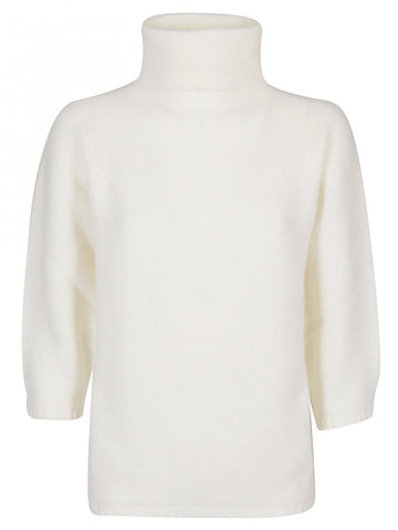 Max Mara Turtleneck Knitted Pullover