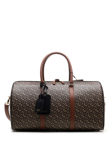Burberry Monogram Printed Duffle Bag